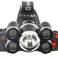 LED Outdoor Lighting Jarak Jauh High-power Headlights Charge Miner's Lamp (Tanpa Baterai)-Intl