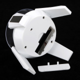 Spesifikasi Led Solar 360 Rotating Display Stand Turn Table Plate Untuk Perhiasan Watch Phone Intl Terbaik