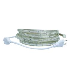Tips Beli Led Strip Flexible Light Smd 5050 Single Color With Eu Plug Controller 220V 5M Putih