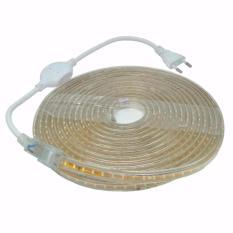 Jual Led Strip Putih Smd 3014 Dengan Kontroller Eu Plug 220V 5M White Murah Di Indonesia