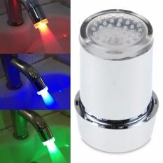 Led Keran Air Stream Light 7 Warnd Glow Mengubah Aliran Keran Shower Kamar Mandi Internasional Oem Diskon
