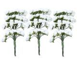 Jual Beli Leegoal 12 Karangan Bunga Buatan Mawar Kertas Tisu Bunga Untuk Pernikahan Dan Rumah Dekorasi 144 Pcs Putih Hijau Baru Tiongkok
