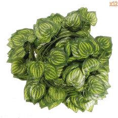 Harga Leegoal 12 Buah Of Watermelon Daun Ivy Sutra Buatan Rumah Taman Dinding Dekorasi Pernikahan Hijau Yang Murah Dan Bagus