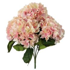 Model Leegoal Buatan Semacam Bunga 5 Kepala Bouquet Pesta Rumah Besar Dekorasi Pernikahan Berwarna Merah Muda Terbaru
