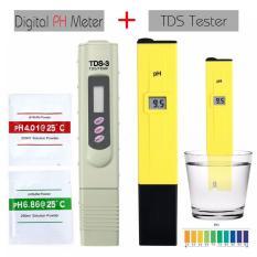 Review Leegoal Tds Tester Meter Handheld Kualitas Air Tester Pen Tds Suhu Meter Dengan Kulit 9990 Ppm Tds Rentang Pengukuran Abs 6 14X1 18X0 8 In