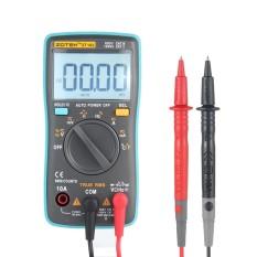 Leegoal ZT102 True RMS Multifungsi LCD Digital Multimeter DMM DC Tegangan AC Rounded Edge Saat Ini Diode Kapasitansi Suhu Tester Pengukuran Otomatis Polaritas Identifikasi Ammeter Voltmeter Ohm
