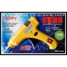 Lem Tembak Kecil 20 Watt Hot Melt GLUE GUN + Sakar ON/OFF Merek HAPPY-E20W