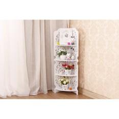 Lemari hias minimalis modern lemari minimalis untuk ruang tamu almari pajangan lemari hias pajangan rak pajangan ruang tamu rak pajangan minimalis Rak Sudut Berdiri 4 Tingkat