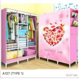 Jual Homedepot Lemari Pakaian A127 Valentine Day Pink Online Dki Jakarta