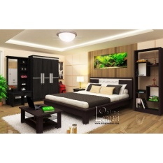 Lemari Pakaian, Meja Rias, Dipan, Nakas, Rak Buku, Meja Bedroom Set By Furniture Minimalis.