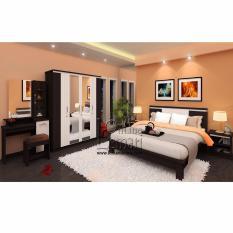 Lemari Pakaian, Ranjang, Nakas, Meja Rias (Bedroom Set New Anata)
