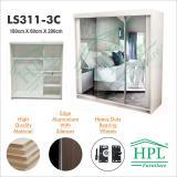 Harga Lemari Pakain Hpl 3 Pintu Sliding Ls3P 3C Merk Hpl Furniture