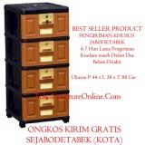Jual Lemari Plastik Laci Buku Serbaguna Stb 400 Free Ongkir Online Jawa Barat