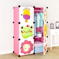 lemari portable binatang anak dewasa rak buku furniture grosir susun