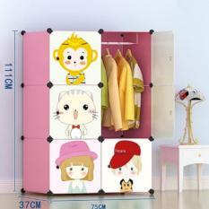 lemari portable pakaian baju buku rak furniture tempat penyimpanan new