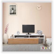 Lemari Rak TV Unico - LIVIEN Furniture