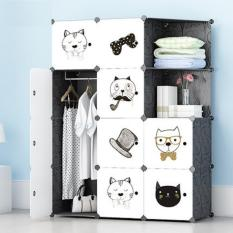 lemari susun rak furniture baju pakaian buku anti air animal vintage