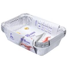Lemon 10 Pcs 830 Ml Sanitasi Grills Kompatibel Aluminium Kertas Perak Piring Pansfor BBQ Barbecue Panggang Membuat Makanan Fre-Internasional