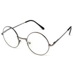 Toko Lesebrille Lesehilfe Rund Unisex Nerd Kult Hornbrille Metall 2 Oem