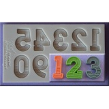 Toko Letter And Number Silicone Mould Fondant Alphabet Cake Mold Kitchen Tool Intl Murah Di Tiongkok