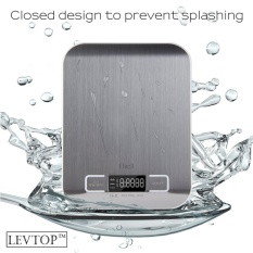 Levtop Stainless Steel Electronic Digital Kitchen Food Weight Scale Lcd Display Intl Diskon Tiongkok