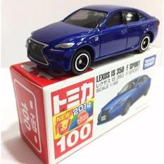 Lexus Is F 350 No 100 Sport Blue Tomica Takara Tomy - Ng8zat