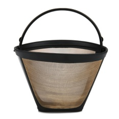 Beli Liebao Kobwa 4 Cone Permanent Coffee Filter Washable Reusable Coffee Filter Intl Online Murah
