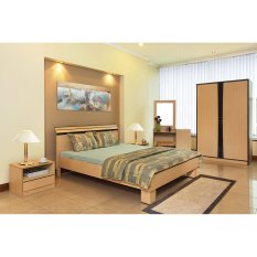 Ligna Tempat Tidur Double Andora UK.160X200 - Tanpa Kasur