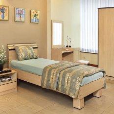 Ligna Tempat Tidur Single Andora UK.90X200 - Tanpa Kasur