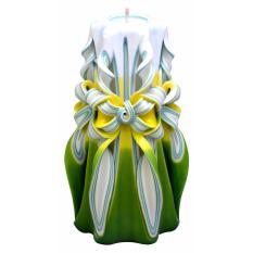 Lilin Ukir 8 inci / Handmade dan Organik Wax / Jasmine