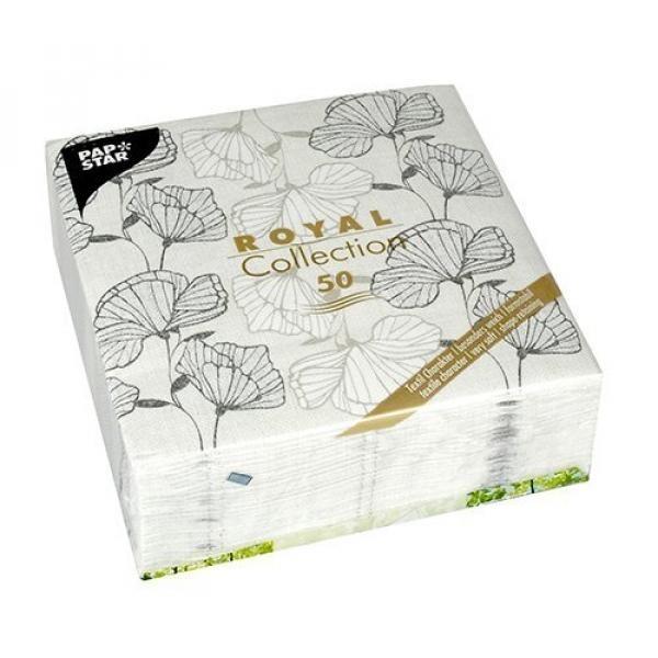 Linen-seperti Kertas Serbet Sekali Pakai, 50 Pack, Premium Kualitas, Penampilan/terasa Seperti Kain, Royal Collection, \