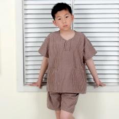 Ling Anak Biru Keringat Yang Mengepul Pakaian Cute Kartun Anak Lembut Pasangan Piyama Rumah Pakaian Jubah Mandi Model Wanita Keringat Mengepul Pakaian-Intl