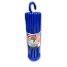 Lion Star Folding Hanger Jemuran Baju 24 Stick - warna biru&merah