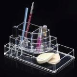 Cuci Gudang Kosmetik Lipstik Dudukan Display Stand Makeup Wadah Penyimpanan Makeup Case Intl