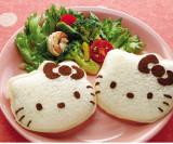 Kucing Kecil Bentuk Sandwich Roti Cetakan Kue Cetakan Diseduh Sendiri Kerajinan Pembuat Alat Pemotong Oem Diskon 50