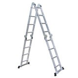 Review Liveo Lv604 Multi Purpose Ladder Tangga Lipat Silver Di Indonesia