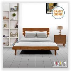 LIVIEN - Bed Queen Aquilla Maple Story Set / Tempat Tidur