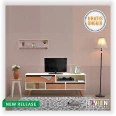 LIVIEN - Meja TV / Lemari TV / Rak TV Cubic TV Dresser