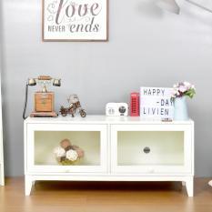 LIVIEN Furniture - Lemari Meja Rak TV Minimalis - Colorido Series