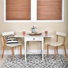 LIVIEN Furniture - Meja Makan Lipat - Meja Minimalis - Meja Tamu