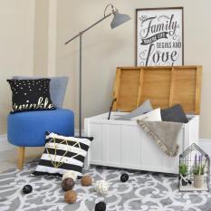 LIVIEN Furniture - Storage Bench Maple Story - Bench Multifungsi - Storage Box - Kursi