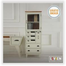 Spesifikasi Livien Ivory Vintage Chest Heim Series Lemari Dapur Yang Bagus