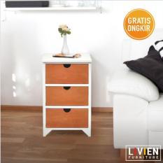 Pro Design Batavia Meja Nakas 2 Laci - Home Oak - Khusus JAWA - BALIIDR599000. Rp 630.000