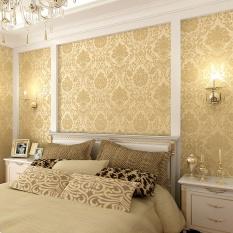 Ruang tamu Modern Sederhana Dinding Kertas 10*0.53 M DIY non-woven Dinding Kertas HD Wallpaper Bunga untuk home Decor-Intl