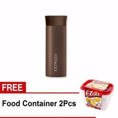 Lock Lock Hot Cool Fruit Tumbler 400Ml Brown Free Food Container 1 3L 2 Pcs Original