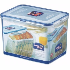 Lock Lock Food Container Hpl829 Rectangular Tall 3 9L Indonesia Diskon 50