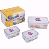 Jual Lock Lock Gift Set Food Container Isi 3 Di Indonesia