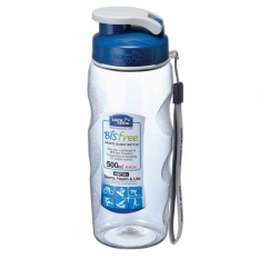 Lock Lock Water Bottle Sports Handy 500Ml Biru Original
