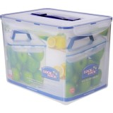 Diskon Lock Lock Food Container Hpl889 Rectangular Tall Container 12L W Handle Tray Lock Lock Di Indonesia