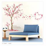 Beli Mimosifolia Love Plum Tree Ruang Tamu Dapur Wallpaper Sticker Stiker Dinding Kamar Tidur Anak Anak Pvc Seni Mural Dekorasi Rumah Prasekolah Kelas Diri Perekat Dekoratif Wallpaper Internasional Online